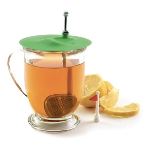 S/S Tee Time Golf Club Tea Infuser Norpro