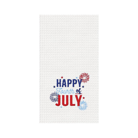 Happy Fourth of July Towel