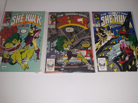 The Sensational SHE-HULK-Comic Book Issues #9#10#11