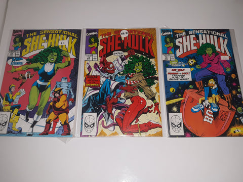 The Sensational SHE-HULK-Comic Book Issues #12#13#14