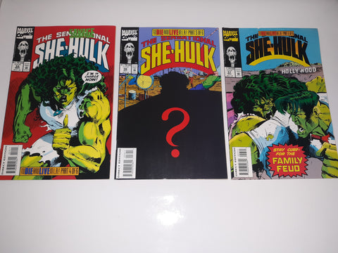 The Sensational SHE-HULK-Comic Book Issues #55#56#57