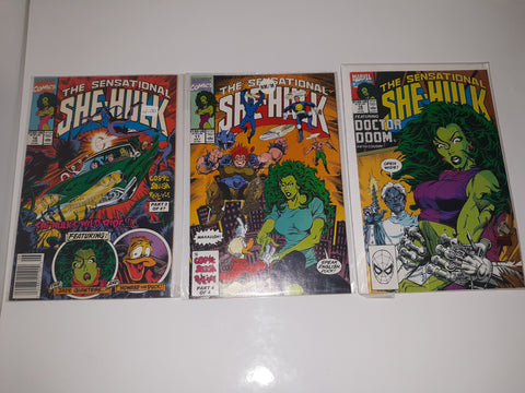The Sensational SHE-HULK-Comic Book Issues #16#17#18