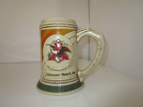 BUDWEISER COLLECTIBLE STEIN