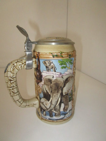Busch Gardens Extinction is Forever Stein Mug Series III
