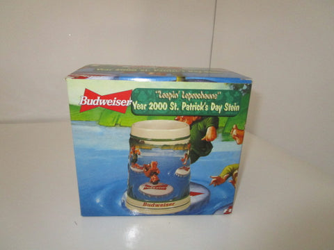 BUDWEISER COLLECTIBLE ST PATRICK'S DAY STEIN
