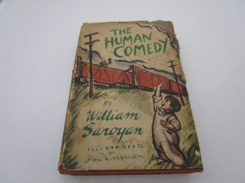 The Human Comedy by William Saroyan (1943) hardcover book