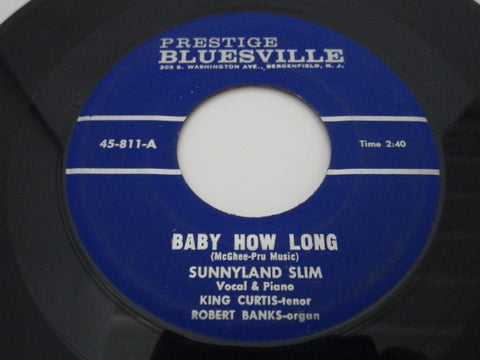 Sunnyland Slim ‎– Baby How Long