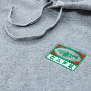 45 Embroidered Hood (Grey)