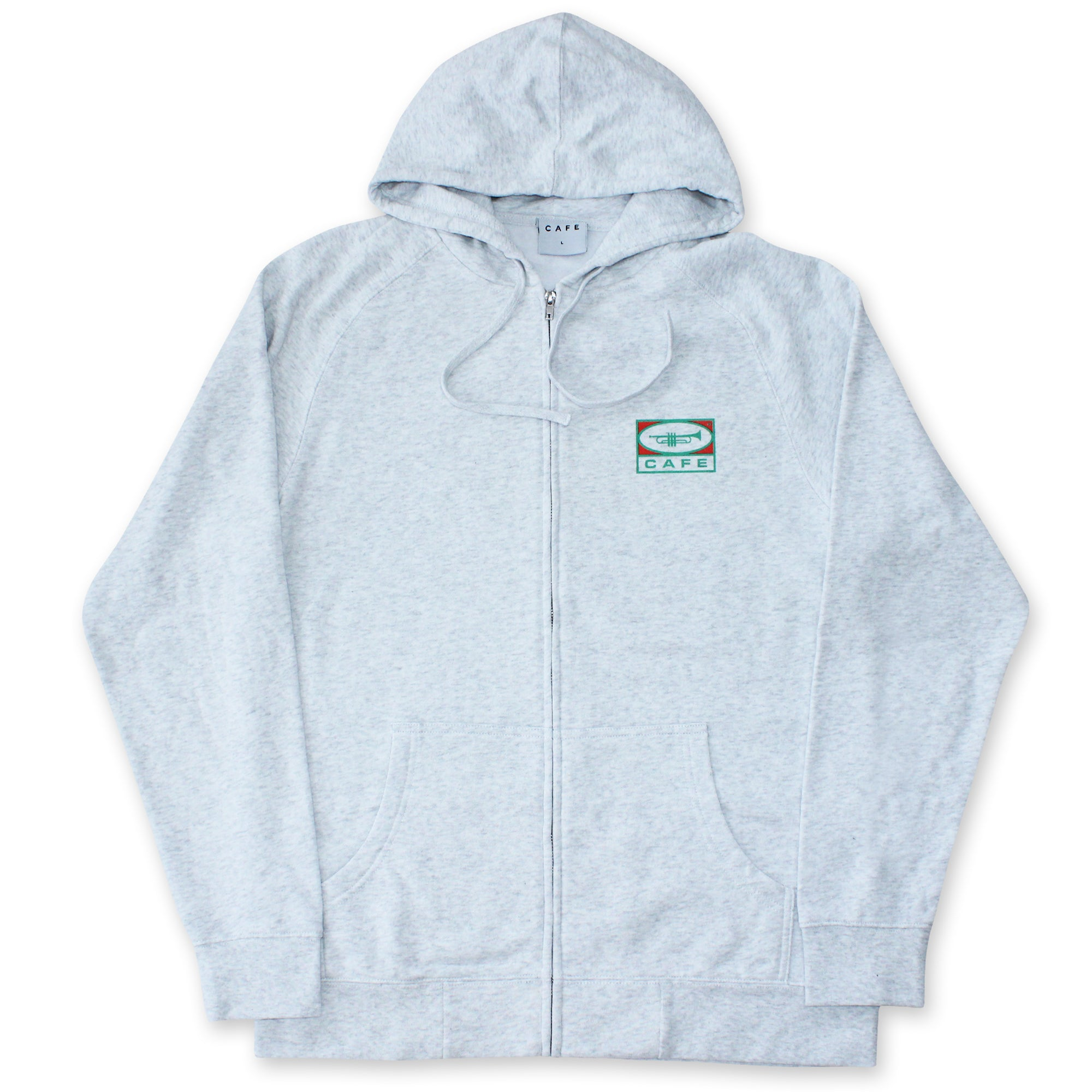 45 Zip Hood (Heather)