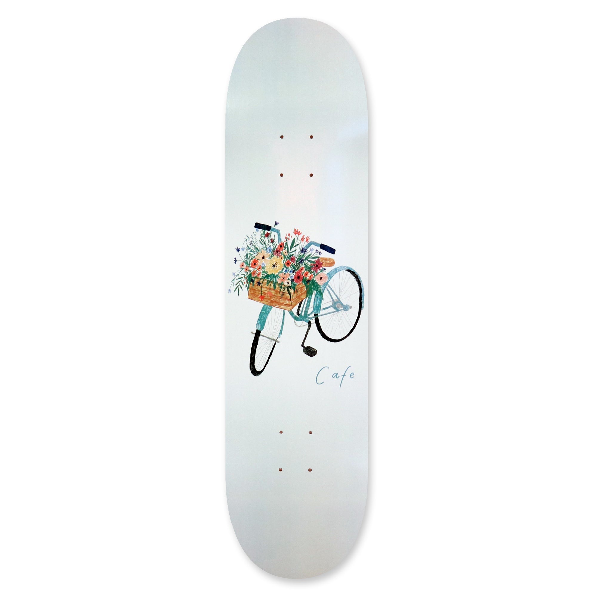 Flower Basket Deck Grey