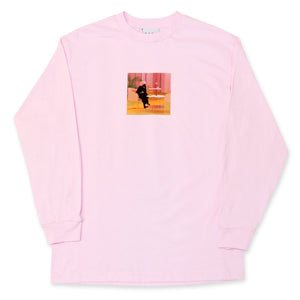 Unexpected Beauty Longsleeve Tee Pink