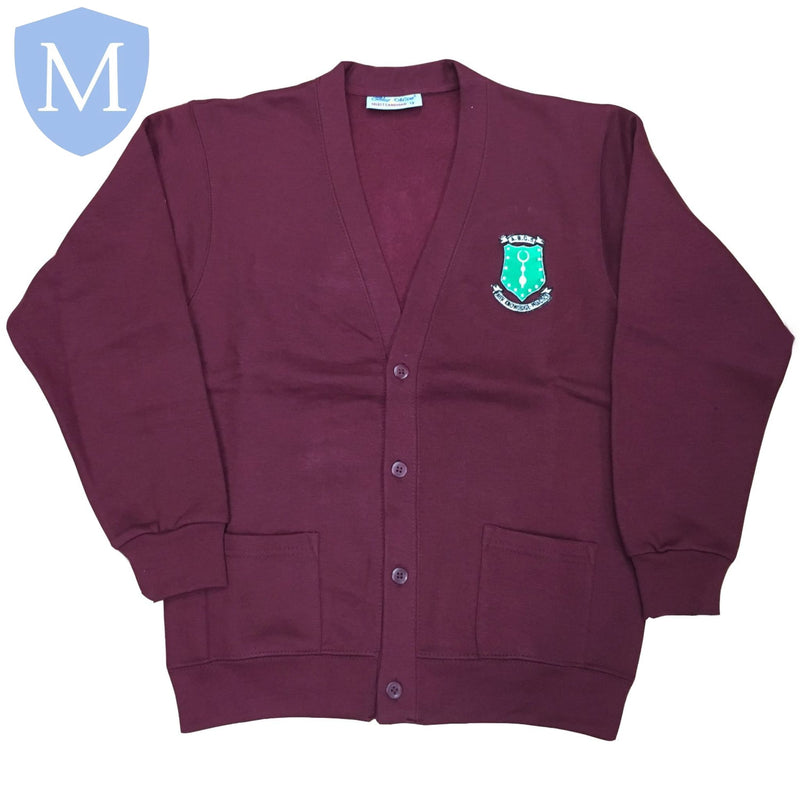 Al-Burhan Grammar School Cardigans 7-8 Years,11-12 Years,13 Years,2XL,9-10 Years,Large,Medium,Small,X-Large