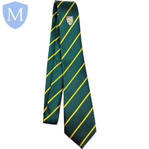 Archbishop Tie Green - Yellow Stripe Default Title