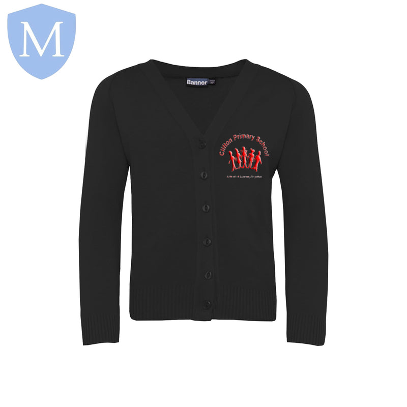 Clifton Cardigans (Black) 2-3 Years,11-12 Years,13-14 Years,3-4 Years,5-6 Years,7-8 Years,9-10 Years,Small