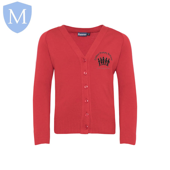 Clifton Cardigans (Red) 2-3 Years,11-12 Years,13-14 Years,3-4 Years,5-6 Years,7-8 Years,9-10 Years,Small