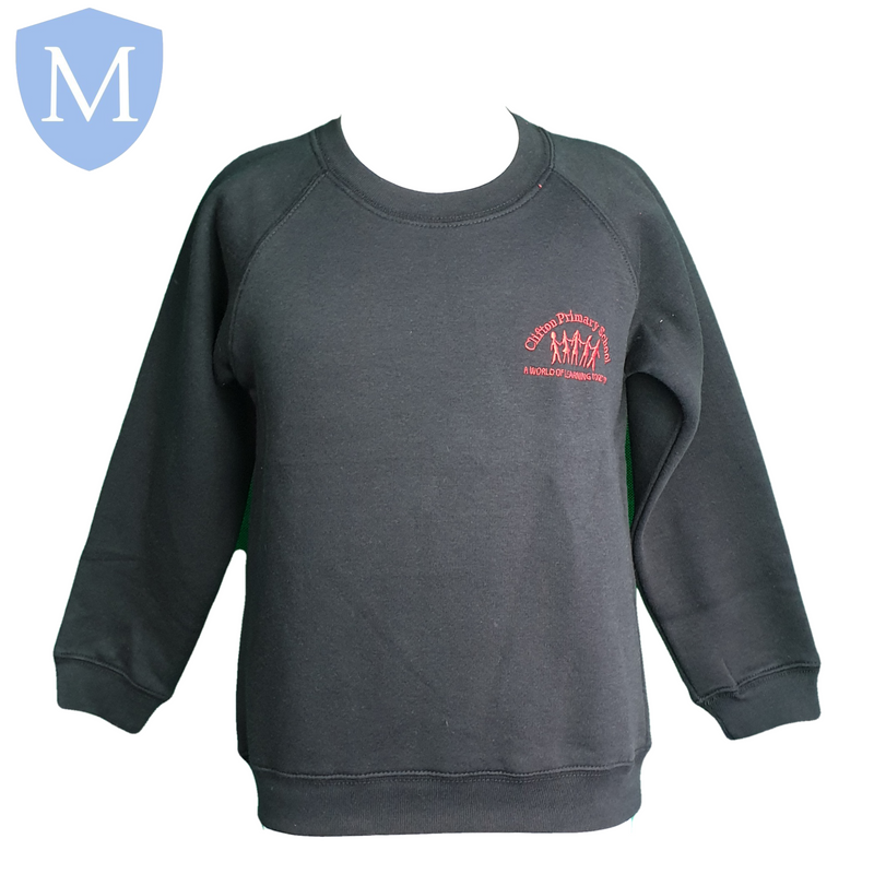 Clifton Jumper (Black) 2-3 Years,11-12 Years,13-14 Years,3-4 Years,5-6 Years,7-8 Years,9-10 Years,Small