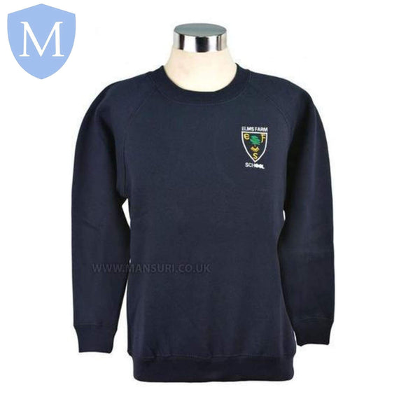 Elms Farm Sweatshirts 2-3 Years,11-12 Years,13 Years,3-4 Years,5-6 Years,7-8 Years,9-10 Years,Large,Medium,Small,X-L