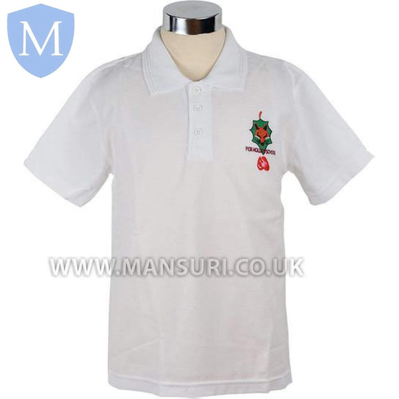 Fox Hollies Polo Shirt Size.28 7-8 Years,2XL,Large (40),Medium (38),Size.30 9-10 Years,Size.32 11-12 Years,Size.34 12-13 Years,Small (36),X-Large (42)