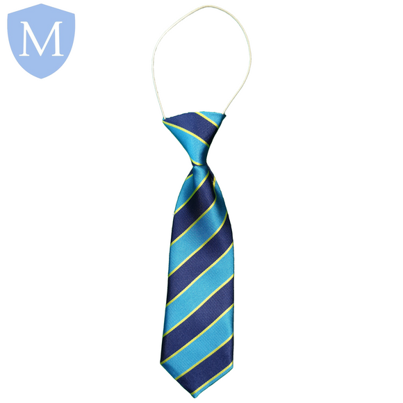 Gossey Lane Elasticated Tie - Kenilworth-Yellow Default Title