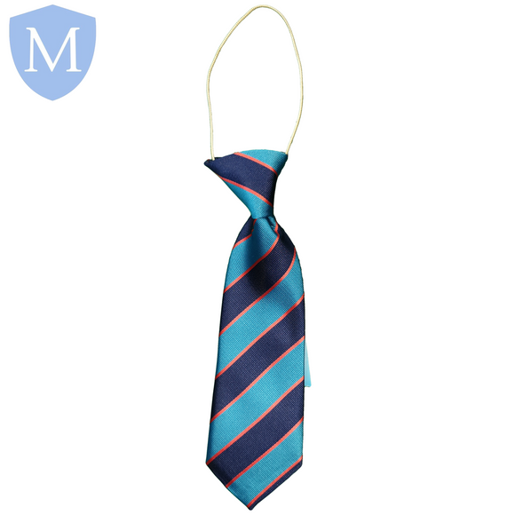 Gossey Lane Elasticated Tie - Tamworth-Red Default Title