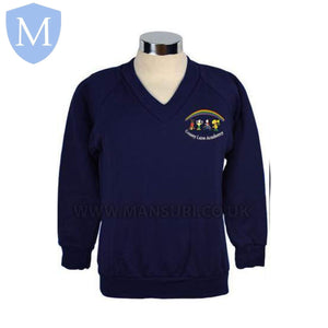 Gossey Lane Junior V Neck Sweatshirts 5-6 Years,11-12 Years,13 Years,2-3 Years,3-4 Years,4-5 Years,7-8 Years,9-10 Years,Large,Medium,Small,XS
