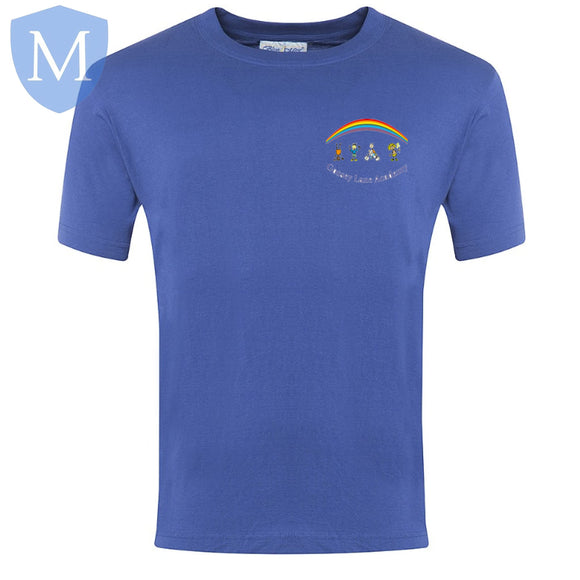 Gossey Lane P.e T-Shirt - Royal Blue