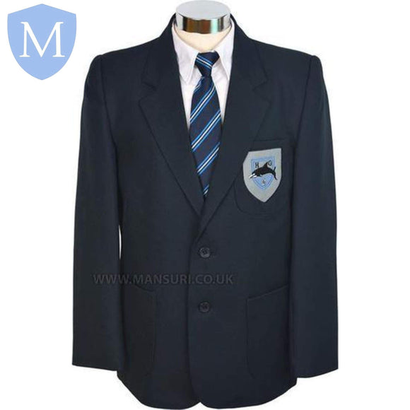 Hall Green Secondary Boys Blazers Chest 29 (9/10 Years),Chest 26 (7/8 Years),Chest 27 (7/8 Years),Chest 28 (9/10 Years),Chest 30 (9/10 Years),Chest 31 (11/12 Years),Chest 32 (11/12 Years),Chest 33 (11/12 Years),Chest 34 (13 Years),Chest 35 (13 Years),Chest 36 (13 Years),Chest 37 (14 Years),Chest 38 (14/16 Years),Chest 39 (14/16 Years),Chest 40,Chest 41,Chest 42,Chest 44,Chest 46,Chest 48
