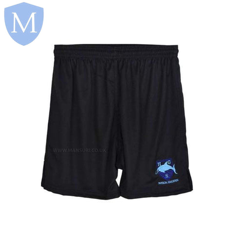 Hall Green Secondary High Performance Football Shorts 28-30 (XXS - 11 Years),22-24 (5/6 Years),26-28 (9-10 Years),30-32 (XS - 12 Years),32-34 (Small - 13 Years),34-36 (Medium - 14 Years),38-40 (large 15-16 Years),42-44 (X-Large)