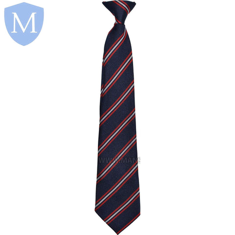 Hall Green Secondary School Tie - Red