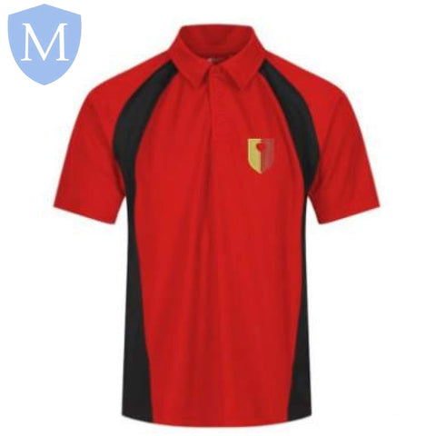 John Henry Newman P.E Polo (Boys) XXS,2XL,3XL,large,Medium,Small,X-L,XS