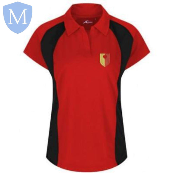 John Henry Newman P.E Polo (Girls) XXS,2XL,3XL,large,Medium,Small,X-L,XS