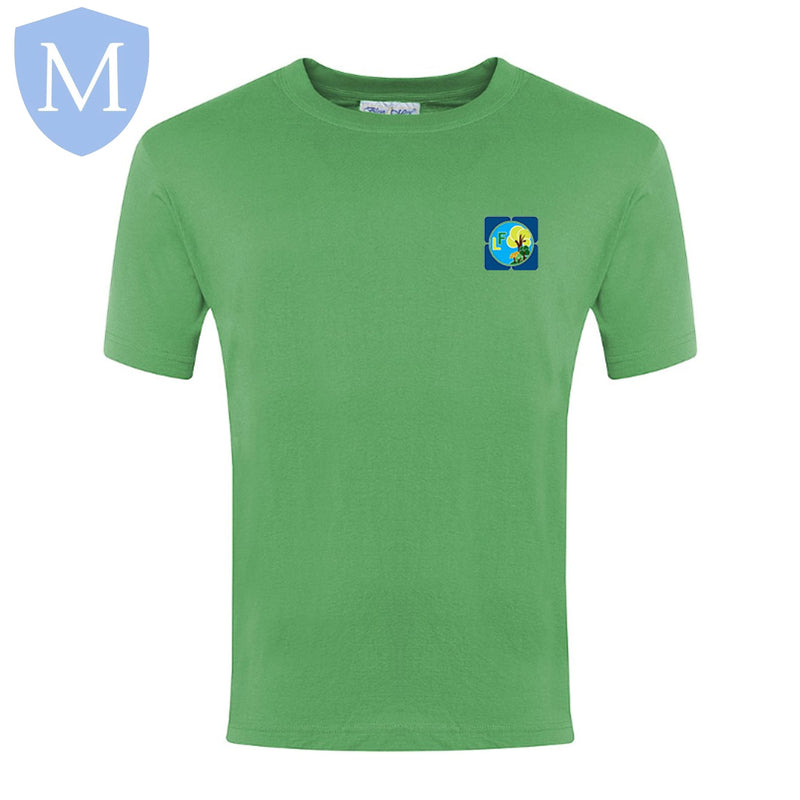 Lea Forest Pe T-Shirt - Green
