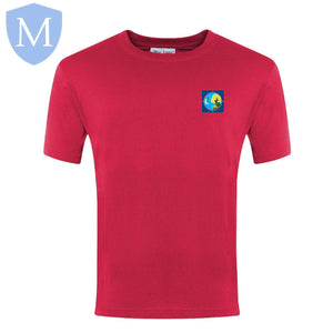 Lea Forest P.e Round Neck T-Shirt