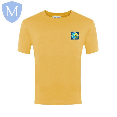 Lea Forest Pe T-Shirt - Yellow