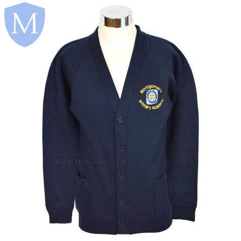 Montgomery Primary Academy Cardigans 2-3 Years,11-12 Years,13 Years,3-4 Years,5-6 Years,7-8 Years,9-10 Years,Large,Medium,Small,X-large
