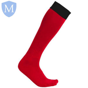Moseley Football Socks (Red) Size 01-05,Size 06-11