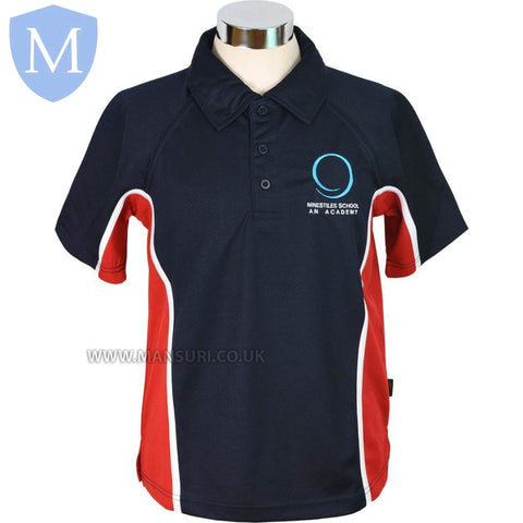 Ninestiles An P.E Polo (Red)