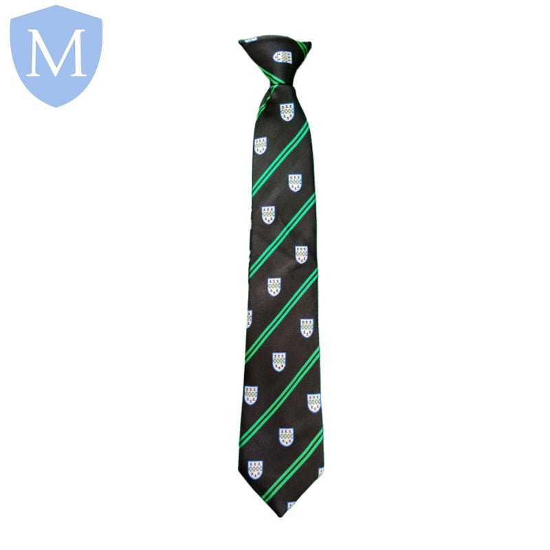 Park Hall Academy Upper Tie - Green