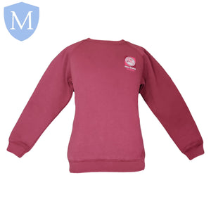 Percy Shurmer Academy Crew-Neck Sweatshirt 11-12,13,2-3,3-4,5-6,7-8,9-10,Large,Med,Small,X-Large