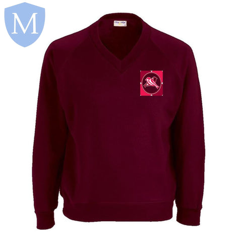 Percy Shurmer Academy V-Neck Sweatshirt 13,2-3,3-4,5-6,7-8,9-10,Large,Med,Small,X-Large