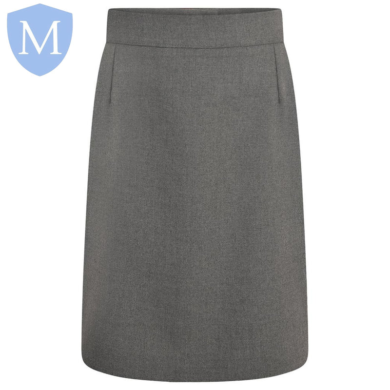 Plain Girls Zeco Pencil Skirt - Grey