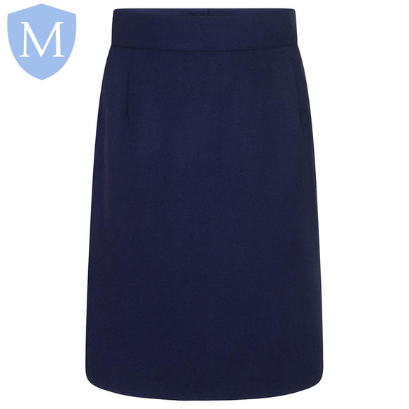 Plain Girls Zeco Pencil Skirt - Navy