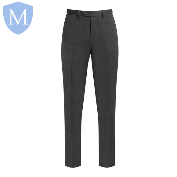 Plain Grey Signature Trousers (Boys)