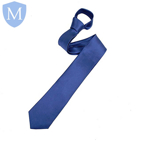 Plain Navy Long Tie Default Title