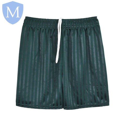 Plain Sports Shadow Shorts - Emerald Green Size 11-12,Size 2-3,Size 2XL,Size 3-4,Size 4-5,Size 5-6,Size 7-8,Size 9-10,Size Large,Size Medium,Size Small,Size XL