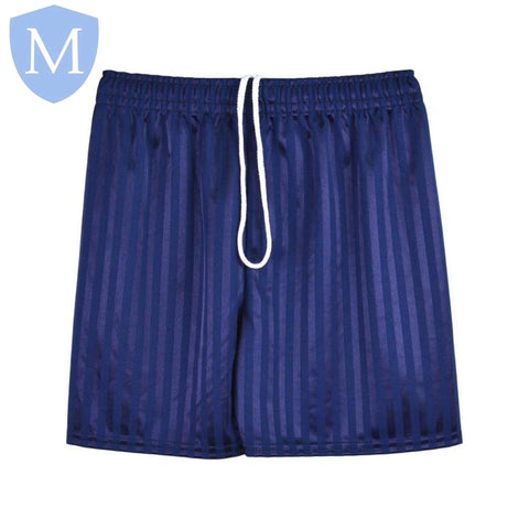 Plain Sports Shadow Shorts - Navy Size 11-12,Size 2-3,Size 2XL,Size 3-4,Size 4-5,Size 5-6,Size 7-8,Size 9-10,Size Large,Size Medium,Size Small,Size XL