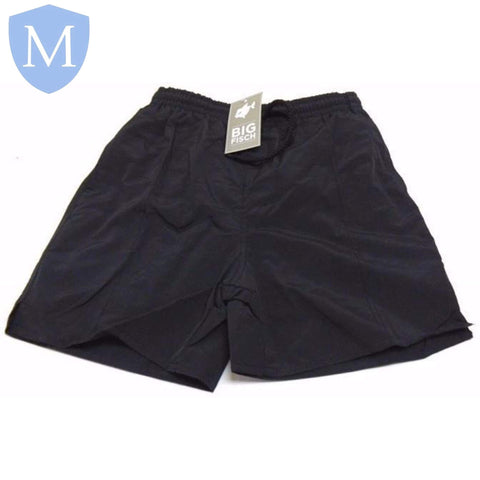 Plain Swimming Shorts - Black