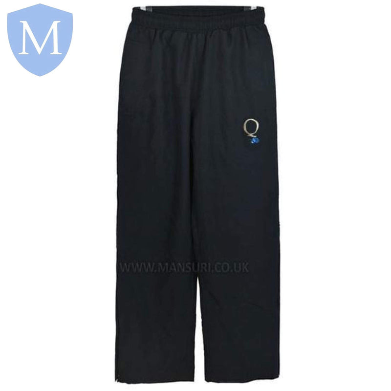 Queensbridge Jogging Bottoms 28-30 (XXS - 11 Years),26-28 (9-10 Years),30-32 (XS - 12 Years),32-34 (Small - 13 Years),34-36 (Medium - 14 Years),38-40 (large 15-16 Years),42-44 (X-Large),46-48 (XXL)