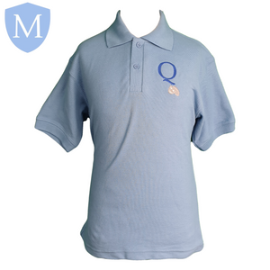 Queensbridge Short Sleeved Polo Shirt Small,11-12 Years,13 Years,2XL,9-10 Years,Large,Medium,X-Large