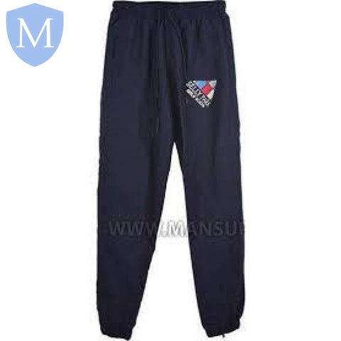 Selly Park Shell Jogging Bottoms 26-28 (9-10 Years),28-30 (XXS - 11 Years),30-32 (XS - 12 Years),32-34 (Small - 13 Years),34-36 (Medium - 14 Years),38-40 (large 15-16 Years),42-44 (X-Large),46-48 (XXL)